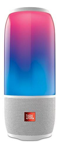 PULSE 3 Bluetoothスピーカー IPX7防水 マルチカラーLED搭載 ポータブル ホワイト JBLPULSE3WHTJN