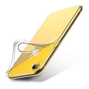 iPhone XR ケース クリア 2018年 6.1インチ iPhone XR ソフトカバー[透明TPUバンパー][薄型 軽量][[耐衝撃 全面保護][落下防止][ワイヤレス充電対応] 人気高 おしゃれ アイフォンXR ケース (クリア)
