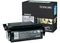 Lexmark (12A5845) - オリジナル - トナー ブラック - 25.000 ページ