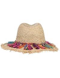 C-Princess 民族風 麦わら帽子 ストローハット 中折れハット つば広 日よけハット レディース 婦人帽 夏 UVカット 紫外線対策 旅行 ビーチ