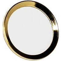 オウルテック 指紋認証機能対応 ホームボタンシール ゴールドフレーム/ホワイト
