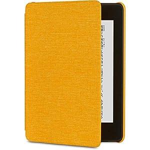 Amazon Kindle Paperwhite (第10世代) 用 ファブリックカバー カナリアイエロー