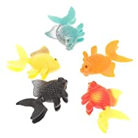 5pcs Plastic Artificial Fish Ornament for Fish Tank Aquarium by Gold Wing