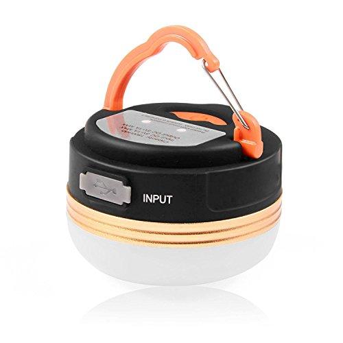 Joytoop LED ランタンアウトドアライトミニ懐中電灯高輝度USB充電...