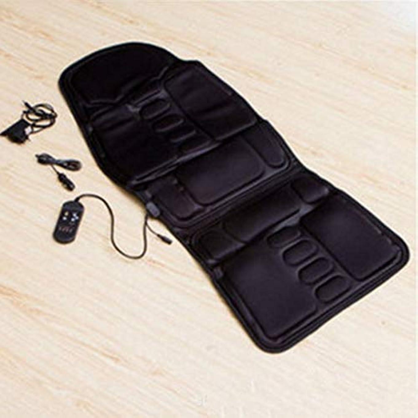 洗うパットセラフCar Chair Home Seat Heat Cushion Back Neck Waist Body Electric Multifunctional Chair Massage Pad Back Massager