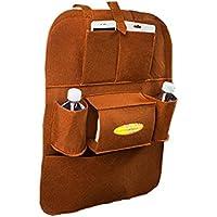 Car Seat Back Hangingストレージバッグ、Transerマルチポケット付き防水ポケットオーガナイザーホルダーハンガー ブラウン 70302769