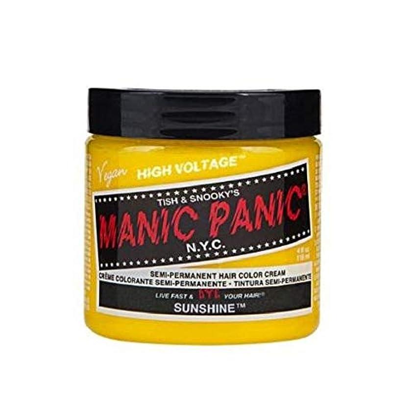 センチメートル解明鯨MANIC PANIC マニックパニック 118ml Sunshine サンシャイン MC11040