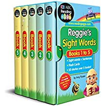 Reggie's Sight Words Box Set: 60 Essential Sight Words + 20 Stories