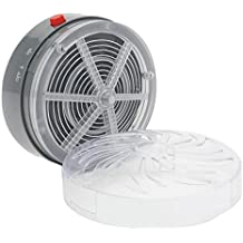 Summer Solar Powered Mosquito Killer Lamps Buzz UV Lamp Light Bedroom Fly Insect Bug Mosquito Kill Zapper Killer Indoor Outdoor : Light Grey