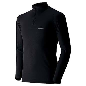 (モンベル)mont-bell ジオラインEXP.ハイネックシャツ Men's 1107520 BK ブラック L