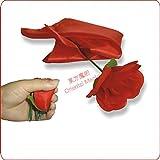 折りたたみローズ(赤) / Folding Rose(Red) -- ステージマジック / Stage Magic /マジックトリック/魔法; 奇術; 魔力