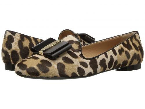 Salvatore Ferragamo(サルヴァトーレ・フェラガモ) レディース 女性用 シューズ 靴 フラット Aosta - Leopardo Calf Pony Hair [並行輸入品]