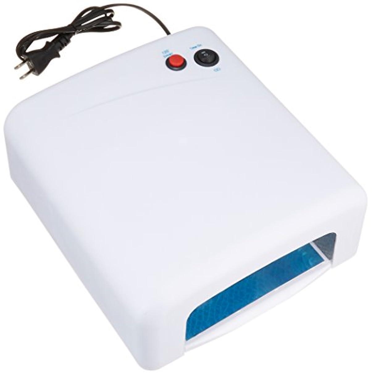 スムーズにスーツケース方程式ノーブランド品 UVライト 36W ホワイト 取扱説明書付き