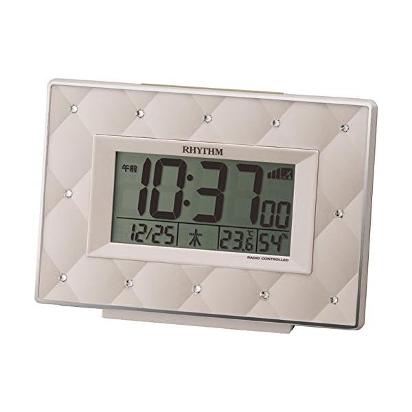RHYTHM (リズム時計) スワロフスキー ・...の商品画像