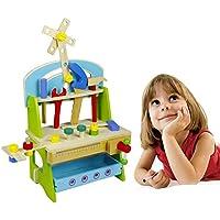 大工さんセット 工具セット おままごと 木のおもちゃ ツール 男の子のおもちゃ キッズ用 子供のおもちゃ 知育玩具 誕生日 クリスマス プレゼント