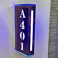 LEDライト付き両面ドアサイネージホテルホテルボックスサイネージ