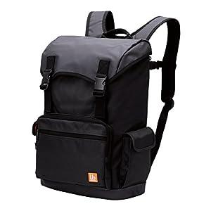 エレコム バックパック 大容量 豊富 小物ポケット付 ブラック BM-BP02BK