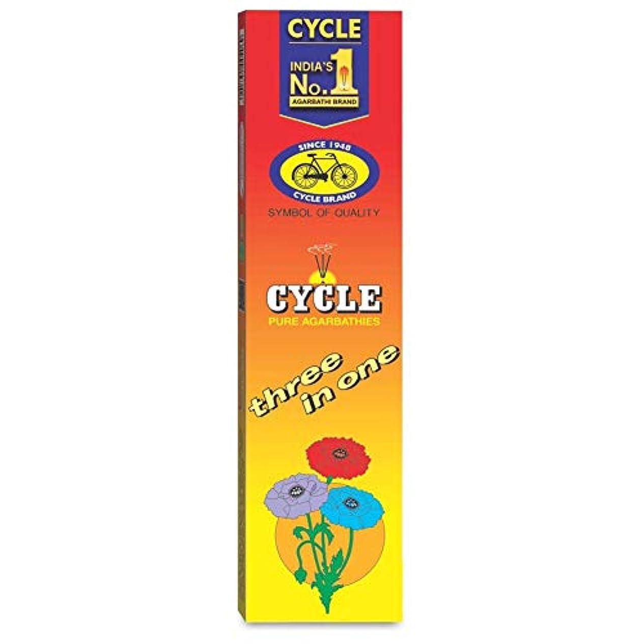 夕食を作る特徴勝利したCycle Pure Agarbathies Three In One Classic Fragrance Incense Sticks - 240 Grams Free Soap Offer