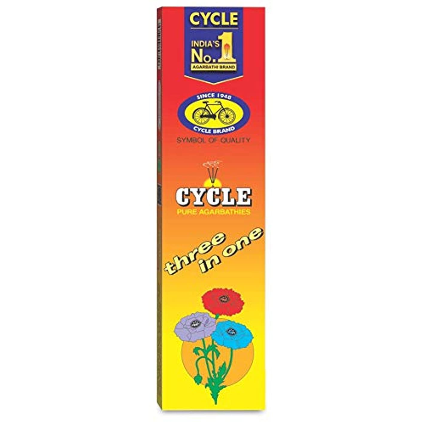 フロント致命的な卒業記念アルバムCycle Pure Agarbathies Three In One Classic Fragrance Incense Sticks - 240 Grams Free Soap Offer