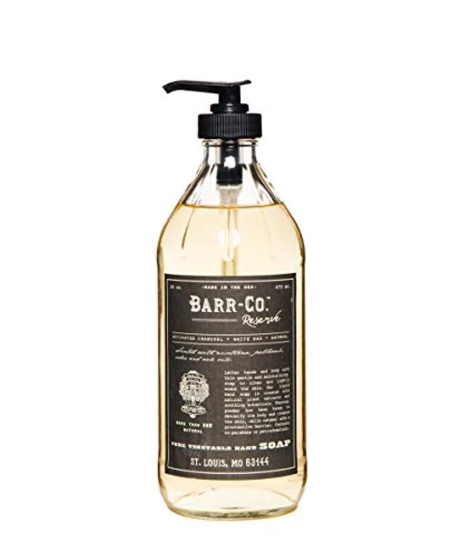 後世暗くする飲料BARR-CO./ハンドソープ リザーブ