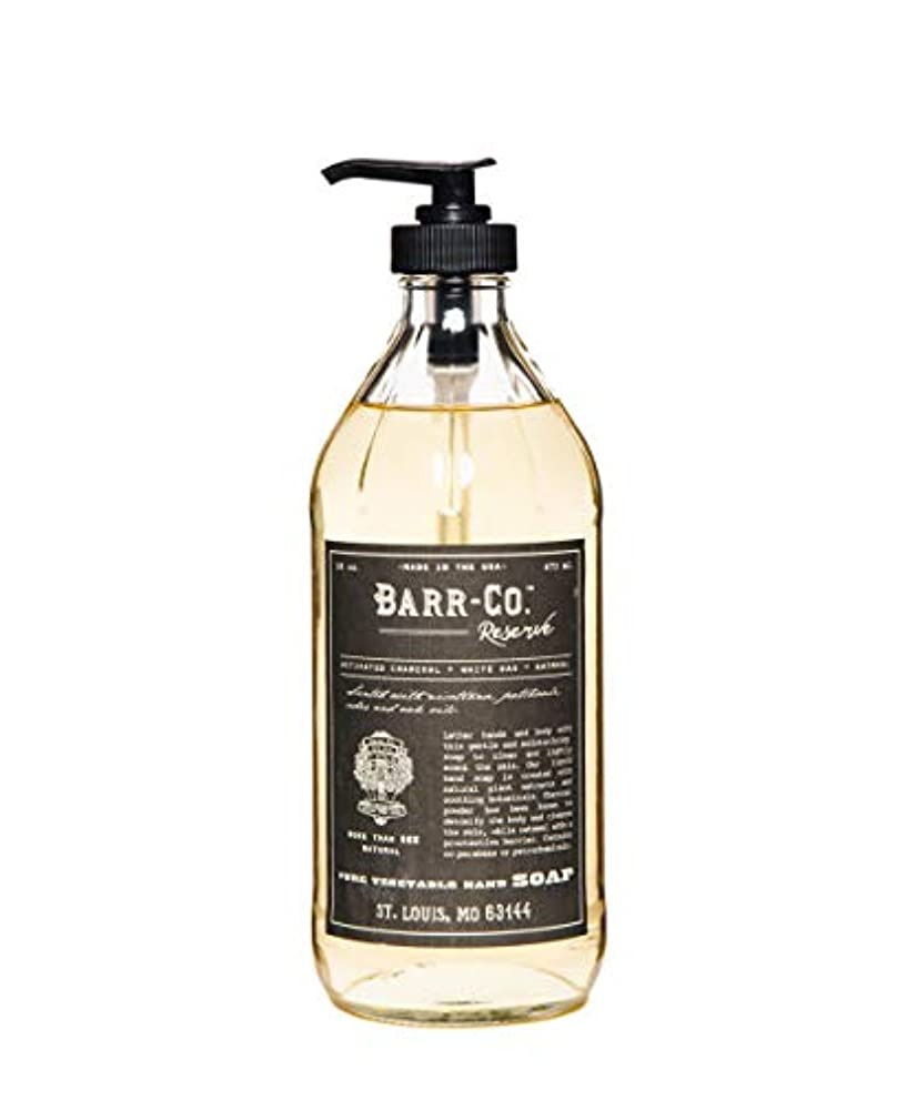 敬礼ラメエンジニアリングバーコ(BARR-CO.) BARR-CO./ハンドソープ リザーブ 石鹸 473ml