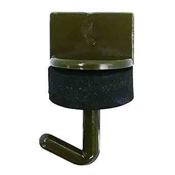 ダイドーハント (DAIDOHANT) (波板フック) ワンタッチプラフック ブロンズ (呼び径d) 4.2 x (長さL) 21mm (100本入) 32476