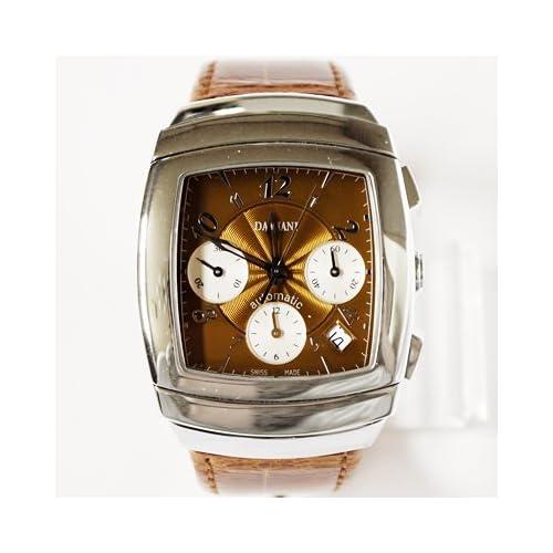 DAMIANI ダミアーニ 30001301 EGO Lady Carreクォーツ 腕時計 クロコダイル/ブラウン[並行輸入品]