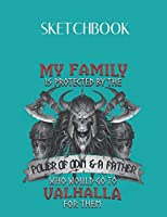 SketchBook: Valhalla Viking Norse Mythology For Men Women With God Odin Viking Design SketchBook Blank Unlined Notebook 110 Pages Journal for School Coworkers Sketching Drawomg to Write in Size 8.5in x 11in