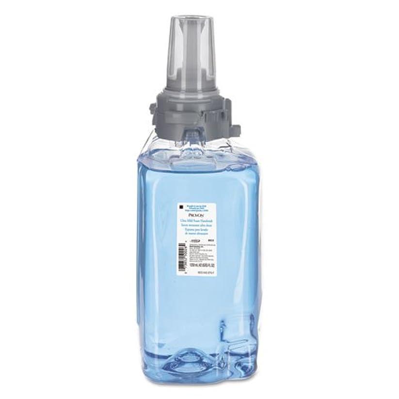 広々とした収益解放するGOJO 超中性フォームハンドウォッシュ、フレッシュな香り、1250ml詰め替え、3/カートン。