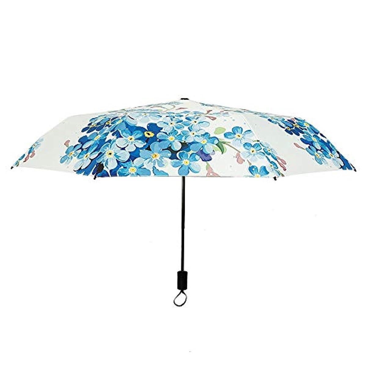 取り出すレーザ一族Chireeko(チレエコ) レディース傘 傘 ジャンプ傘 折りたたみ傘 雨傘 日傘 晴雨兼用 軽量 190T UVカット 紫外線遮蔽 遮光 撥水 耐久 耐風 3段畳み 収納ポーチ付き おしゃれ ギフト
