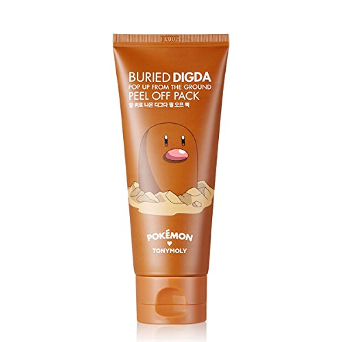 TONY MOLY BURIED DIGDA (Diglett) POP UP FROM THE GROUND PEEL OFF PACK Pokemon Edition トニーモリー?ブレイド?ディグダ?ピンク?アップ?アース?ピール?オフ?パック...