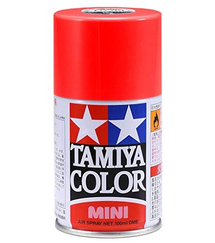 タミヤカラースプレー TS36 螢光レッド 100ml 85036