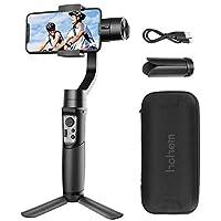Hohem ジンバル iSteady Mobile 3軸ハンドヘルドスタビライザー スマートフォン用 iPhone X/XS/XR/8/8P Samsung用 Galaxy