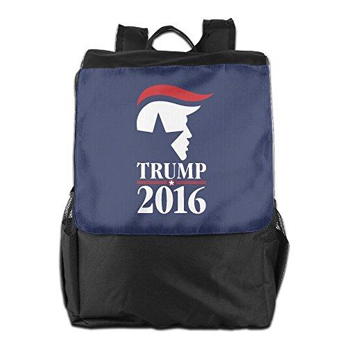 FreedomHip リュックサック デイパック バックパック 大容量 スクエア ドナルド・トランプ カッコいいシンボル Trump 米大統領