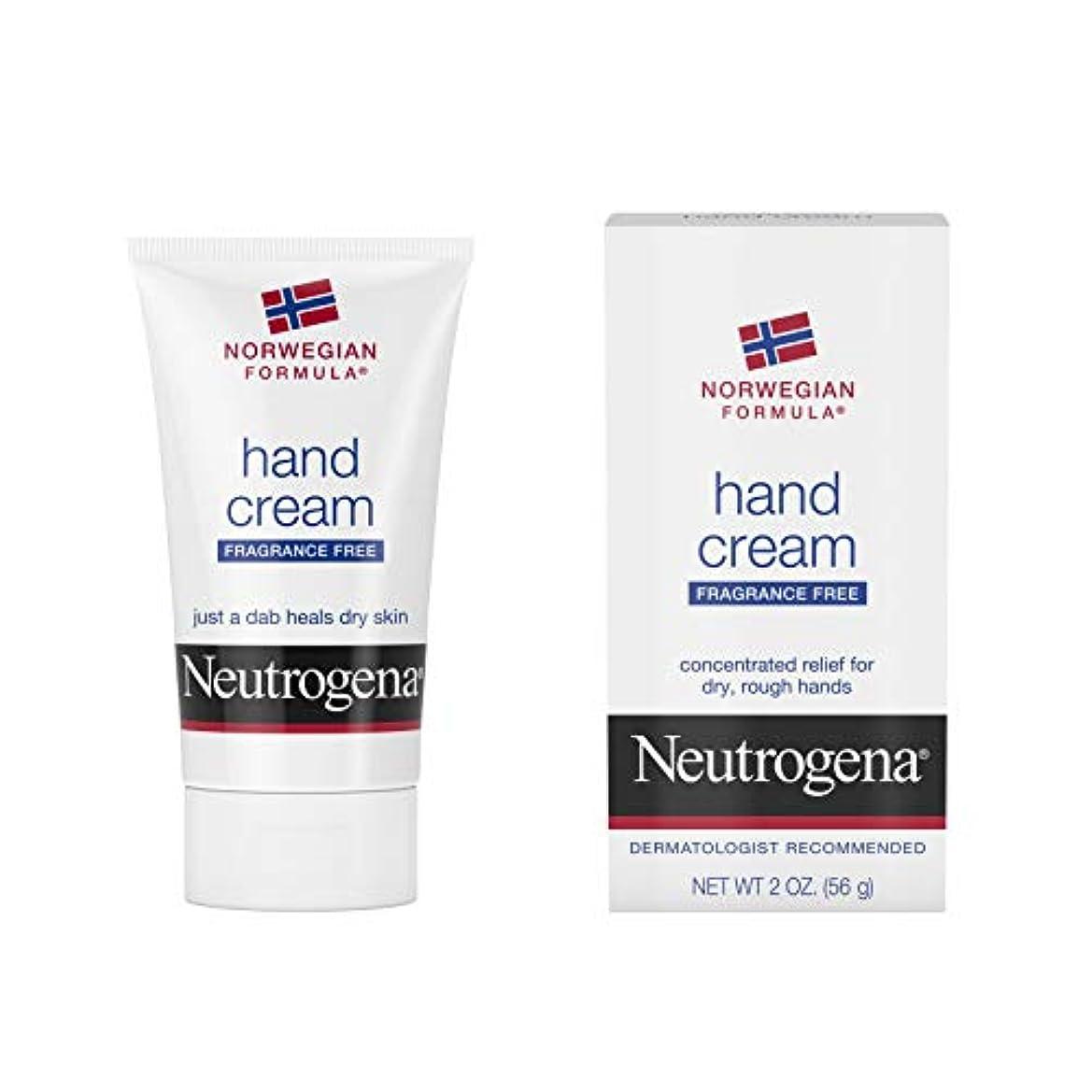 遷移耐久火山学者Neutrogena Norwegian Formula Hand Cream Fragrance-Free 60 ml (並行輸入品)