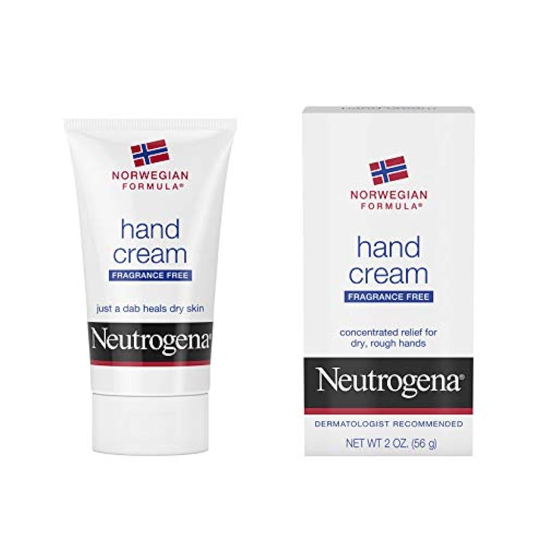こっそり望み広々としたNeutrogena Norwegian Formula Hand Cream Fragrance-Free 60 ml (並行輸入品)