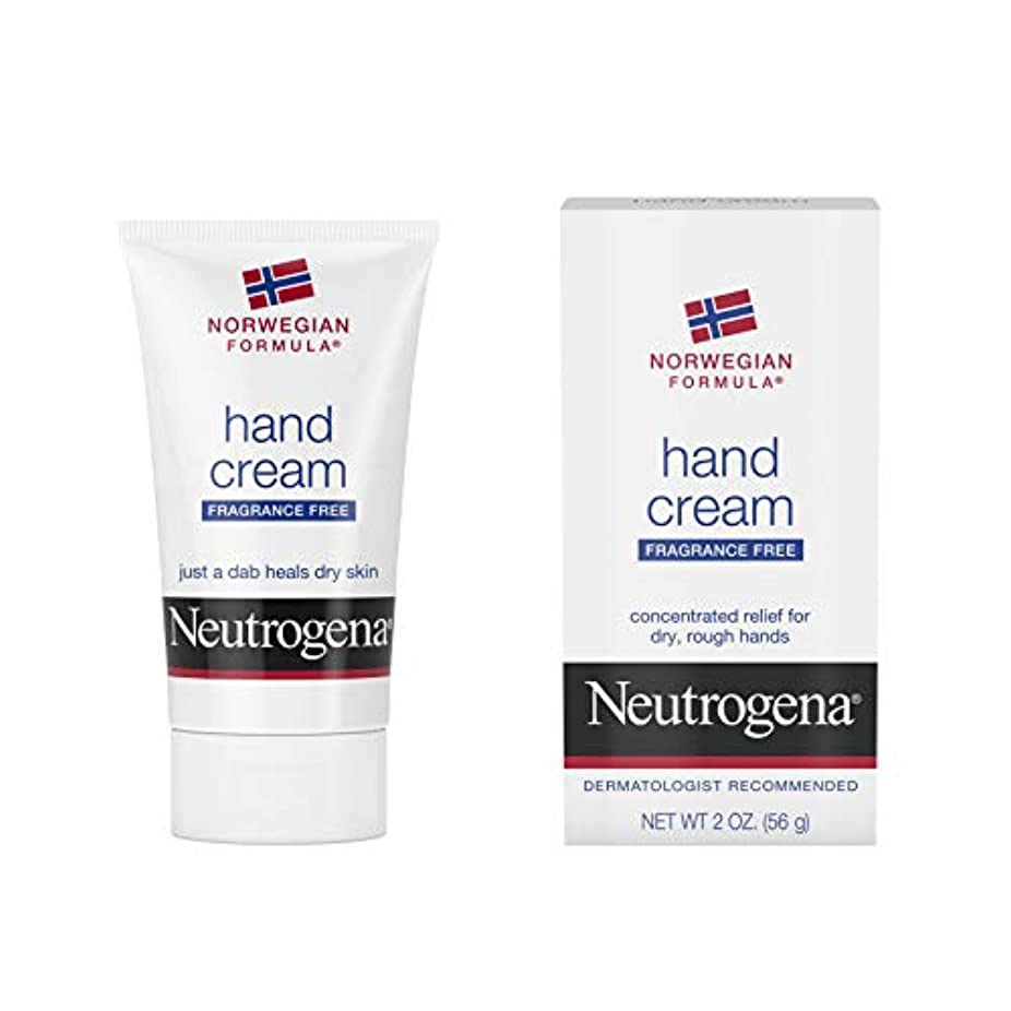 研究調和時々時々Neutrogena Norwegian Formula Hand Cream Fragrance-Free 60 ml (並行輸入品)
