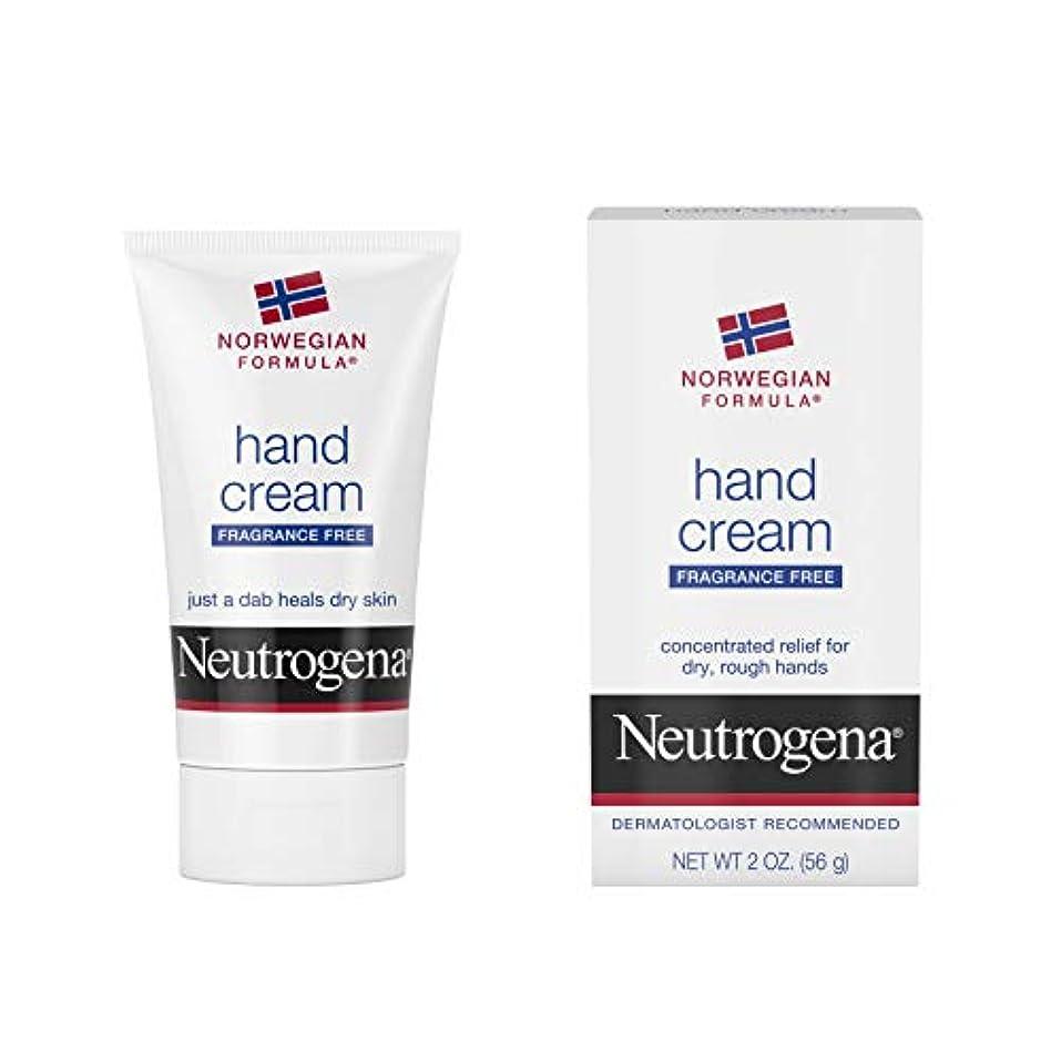 夫松明ダーベビルのテスNeutrogena Norwegian Formula Hand Cream Fragrance-Free 60 ml (並行輸入品)