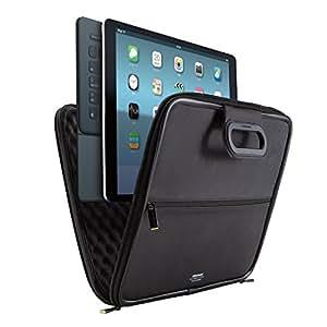 ELECOM iPad Pro[2015年モデル] インナーケース ZEROSHOCK 取っ手付 ブラック TB-A15LZSBBK