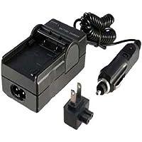 DMW-BCF10PP CGA-S/106B バッテリー充電器 適用に適用する パナソニック Lumix DMC-FH3 DMC-FH1 DMC-FS7 DMC-TS1S