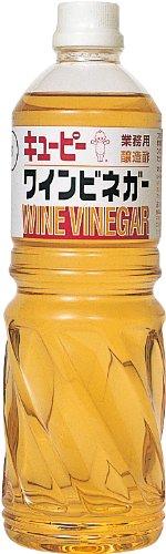 キューピー ワインビネガー ペット1L