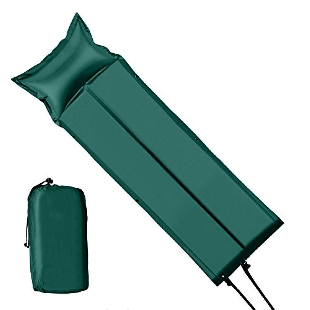 ロータリー傾いた請願者エアーマット FDLH エアーマット 自動膨張 車中泊 マット アウトドアマット キャンプ 軽量 防水 連結可能 高反発
