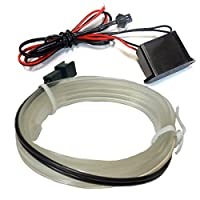 エスティ マルシーダ LEDテープライト LEDテープ ELワイヤー ホワイト 1m ネオン 隙間に挟める モール