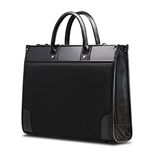 エレコム ビジネスバッグ 就職活動 ショルダーベルト付 A4サイズ対応 13.3インチPC対応 自立式 ブラック BM-F01XBK