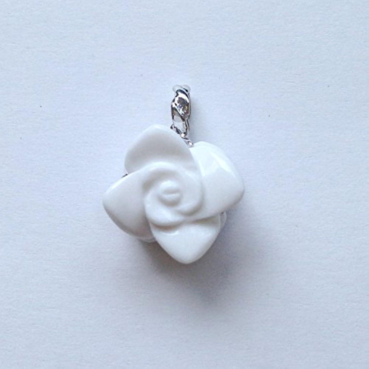 決定アクロバットハプニング香る宝石SVホワイトメノウペンダント通常¥26,800の所 (Ag925)