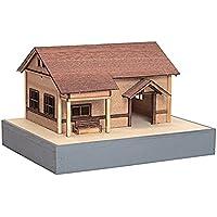 ウッディジョー Nゲージ 木の電車シリーズ11 懐かしの木造電車&機関車 駅舎 鉄道模型用品