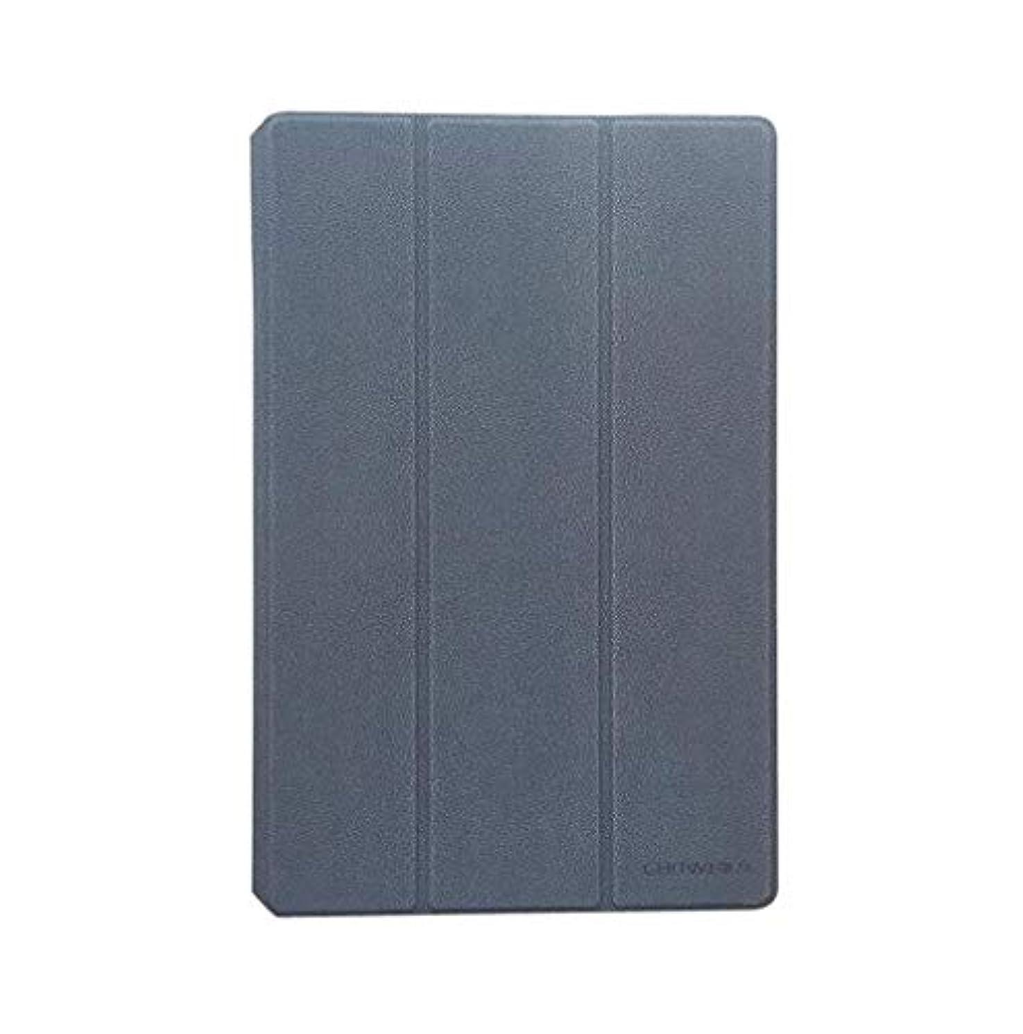 粘土おじさんラッドヤードキップリングMaxku CHUWI Hi10 air ケース高級PUレザーケース カバー 手帳型 軽量 全面保護型 スタンド機能付き スマートカバー (グレー)