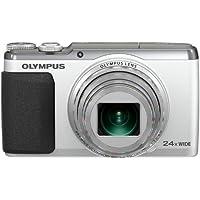 OLYMPUS デジタルカメラ STYLUS SH-60 3軸フォト手ぶれ補正&ハイブリッド5軸ムービー手ぶれ補正 光学24倍&超解像48倍ズーム シルバー SH-60 SLV