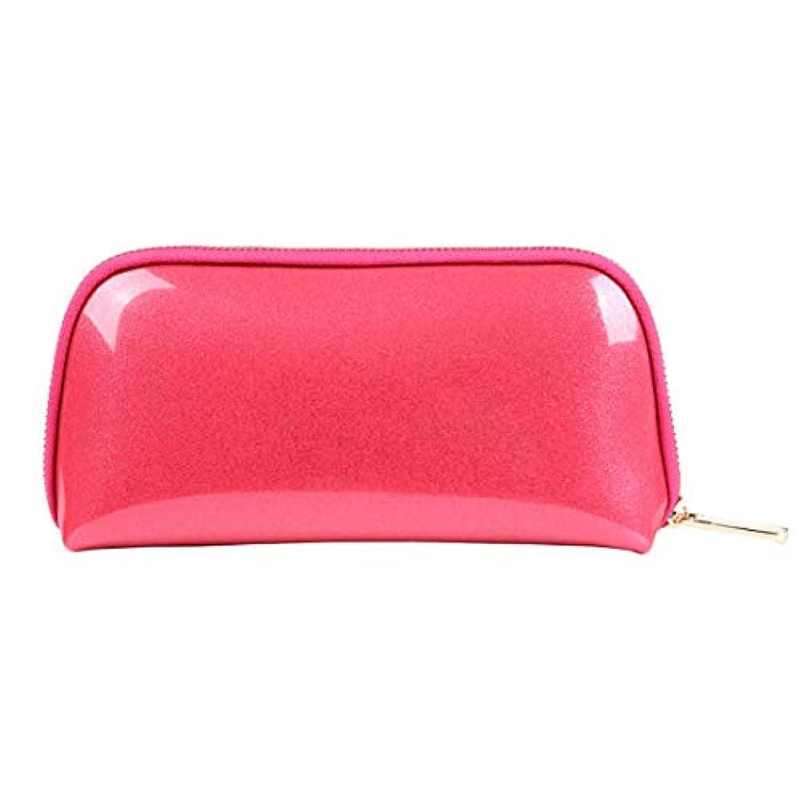 破壊的普通にありそうBALLEEY クリエイティブ多機能大容量女性のトイレタリーバッグ化粧バッグ男性と女性の普遍的な旅行バッグ受け取りバッグ洗濯バッグ (色 : ピンク)