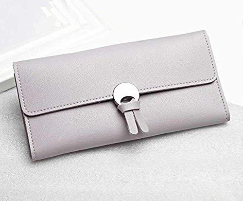 9b57822acc5f 【AMgrocery】長財布 レディース 薄い 軽い使いやすい 柔らかい 女の子 コンパクト シンプル (ライラック